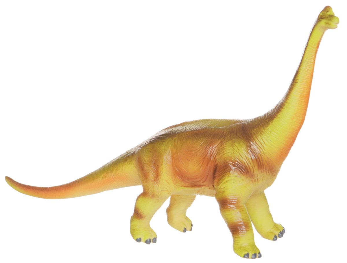 HGL Фигурка БрахиозаврSV3446_брахиозаврРезиновая фигурка Брахиозавр выглядит как самый настоящий доисторический ящер! У него маленькая голова на очень длинной шее и гибкий тонкий хвост. Фигурка изготовлена из высококачественных нетоксичных материалов, абсолютно безопасных для малышей. Тема эпохи динозавров никогда не останется в прошлом! Каждый ребенок, так или иначе, интересовался этим доисторическим миром и мечтал о своем собственном динозавре. Удивительные фигурки динозавров HGL с высокой детализацией и тщательной проработкой элементов не оставят равнодушным ни одного ребенка. Ваш ребенок часами будет играть с такой игрушкой, придумывая различные истории.