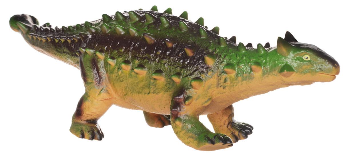 HGL Фигурка ТаларурусSV3446_таларурусРезиновая фигурка Таларурус выглядит как самый настоящий доисторический ящер! У него короткие лапы, длинный мощный хвост и несколько рядов шипов на спине. Фигурка изготовлена из высококачественных нетоксичных материалов, абсолютно безопасных для малышей. Тема эпохи динозавров никогда не останется в прошлом! Каждый ребенок, так или иначе, интересовался этим доисторическим миром и мечтал о своем собственном динозавре. Удивительные фигурки динозавров HGL с высокой детализацией и тщательной проработкой элементов не оставят равнодушным ни одного ребенка. Ваш ребенок часами будет играть с такой игрушкой, придумывая различные истории.
