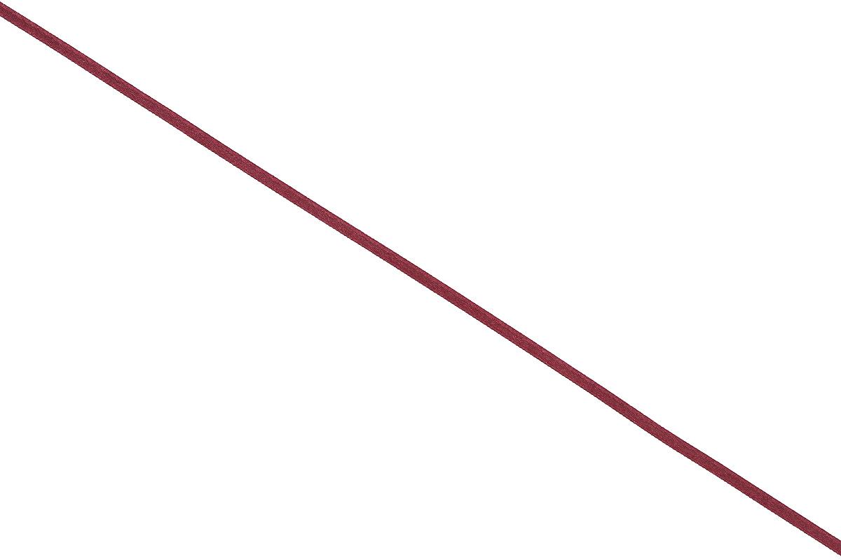 Лента атласная Prym, цвет: темно-бордовый, ширина 3 мм, длина 50 м697069_73Атласная лента Prym изготовлена из 100% полиэстера. Область применения атласной ленты весьма широка. Изделие предназначено для оформления цветочных букетов, подарочных коробок, пакетов. Кроме того, она с успехом применяется для художественного оформления витрин, праздничного оформления помещений, изготовления искусственных цветов. Ее также можно использовать для творчества в различных техниках, таких как скрапбукинг, оформление аппликаций, для украшения фотоальбомов, подарков, конвертов, фоторамок, открыток и многого другого. Ширина ленты: 3 мм. Длина ленты: 50 м.