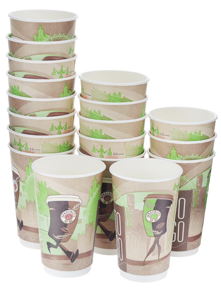 Набор одноразовых стаканов Huhtamaki Coffee Break, бумажные, 400 мл, 18 штПОС26398Одноразовые стаканы Huhtamaki Coffee Break изготовлены из двуслойной плотной бумаги с внутренней ламинацией. Они отлично подойдут для кофе, какао, шоколада и других горячих и холодных напитков. Несмотря на то, что стаканы бумажные, они очень прочные и не промокают. Диаметр стакана (по верхнему краю): 8 см. Высота стакана: 14 см.