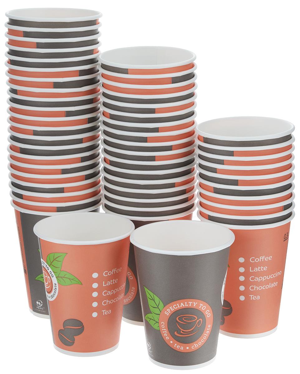Набор одноразовых стаканов Huhtamaki Coffee-to-Go, 300 мл, 50 штПОС24110Одноразовые стаканы Huhtamaki Coffee-to-Go изготовлены из ламинированной плотной бумаги и оформлены оригинальным рисунком. Изделия предназначены для подачи холодных и горячих напитков. Вы можете взять их с собой на природу, в парк, на пикник и наслаждаться вкусными напитками. Несмотря на то, что стаканы бумажные, они очень прочные и не промокают. Диаметр стакана (по верхнему краю): 9 см. Высота стакана: 11 см.