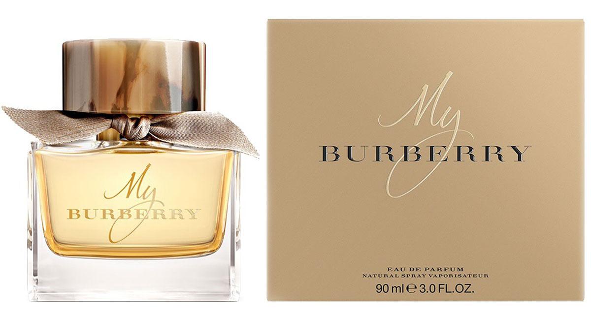 Burberry MY Burberry WOMAN парфюмированная вода 90 мл13046Цветочные. Бергамот, душистый горошек, айва, герань, фрезия, пачули, роза