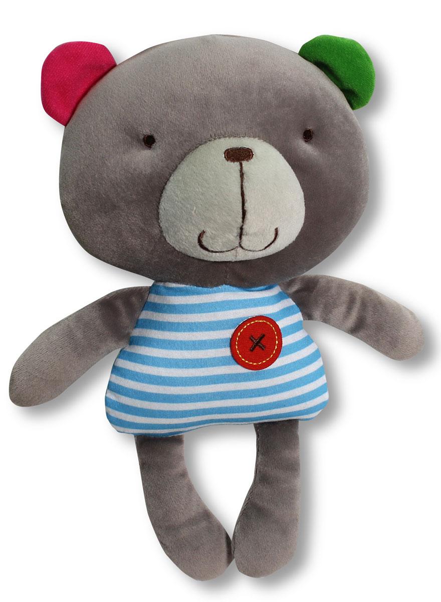 Bobby & Friends Мягкая игрушка Медвежонок Бобби 22 смТ57138Мягкая игрушка Bobby & Friends Медвежонок Бобби привлечет внимание вашего малыша и не позволит ему скучать! Игрушка выполнена из текстильного материала в виде симпатичного медвежонка Бобби. Если нажать мишке на левое ушко, он поздоровается, произнесет свое имя и предложить поиграть в прятки. Яркая игрушка Bobby & Friends Медвежонок Бобби поможет ребенку в развитии цветового и звукового восприятия, концентрации внимания, мелкой моторики рук, координации движений и тактильных ощущений. Игрушка работает от 3 незаменяемых батареек LR44.