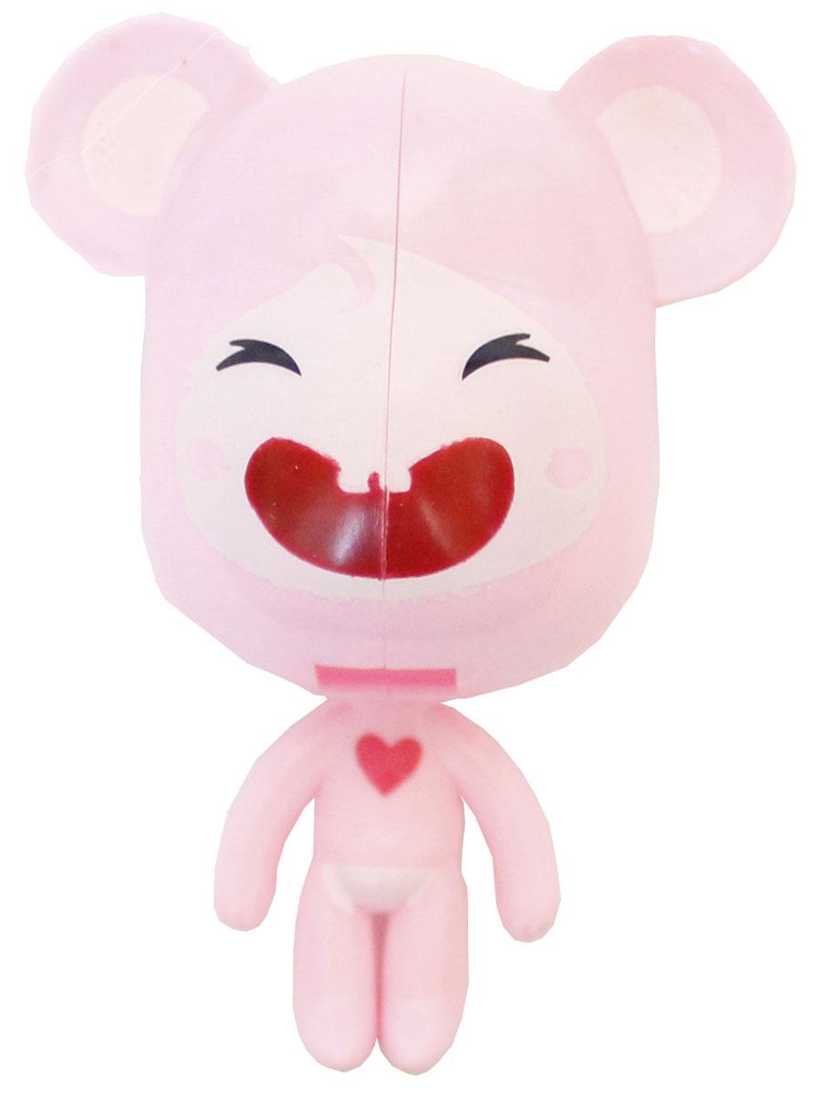 Twin Lotus Держатель для зубных щеток Мышь, цвет: розовый