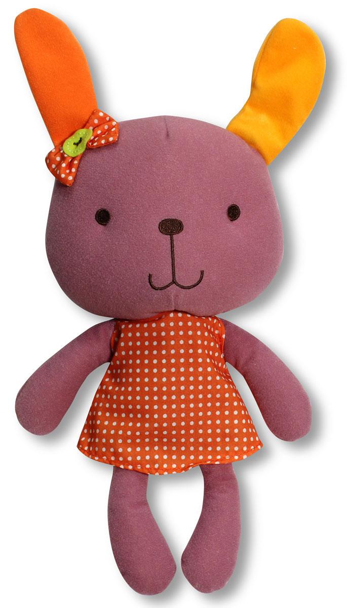 Bobby & Friends Мягкая игрушка Зайка Фанни 29 смТ57138_розовыйМягкая игрушка Bobby & Friends Зайка Фанни привлечет внимание вашего малыша и не позволит ему скучать! Игрушка выполнена из текстильного материала в виде симпатичной зайки Фанни. Если нажать зайке на левое ушко, она поздоровается, произнесет свое имя, пожалуется, что устала и предложит пойти спать. Яркая игрушка Bobby & Friends Зайка Фанни поможет ребенку в развитии цветового и звукового восприятия, концентрации внимания, мелкой моторики рук, координации движений и тактильных ощущений. Игрушка работает от 3 незаменяемых батареек LR44.