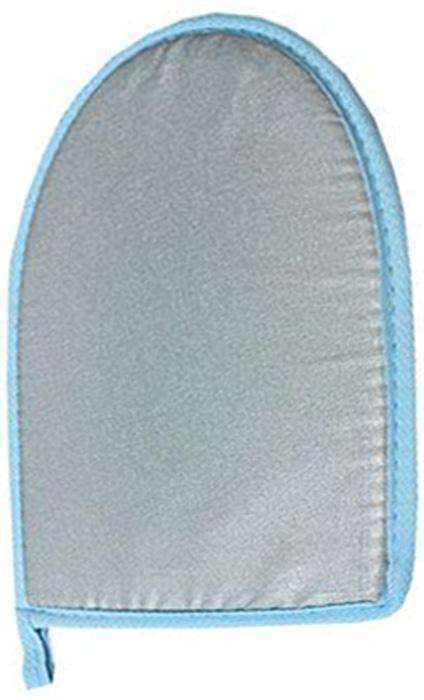 Варежка для отпаривания Eva,окантовка в ассортиментеЕ38Варежка поможет эффективно разгладить одежду прямо на весу: пиджаки и брюки можно оставить на вешалке. Удобно для отпаривания лацканов, рукавов и небольших деталей. Изготовлено из материала не пропускающего тепло.