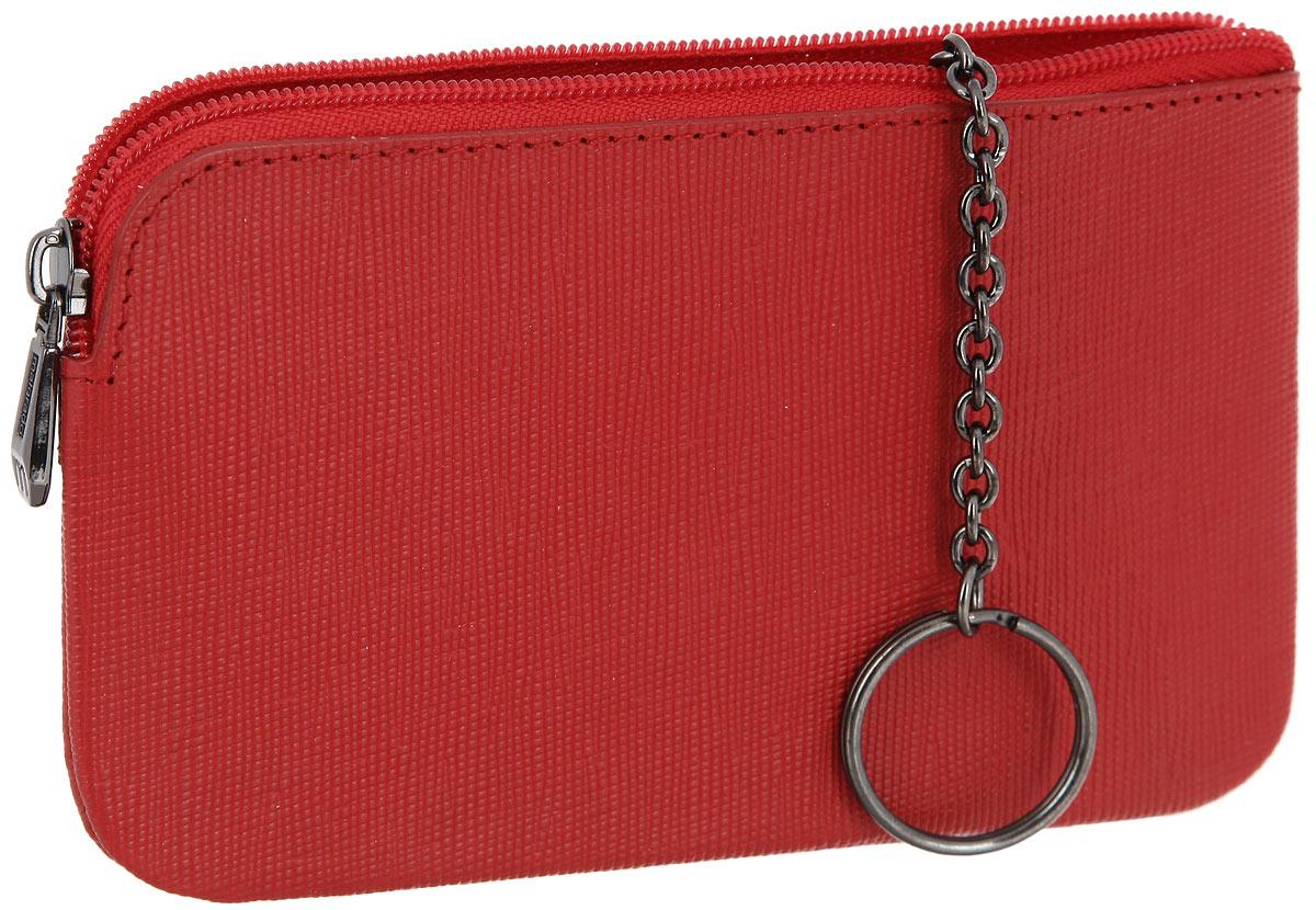 Ключница женская Malgrado, цвет: красный. 50501-13801