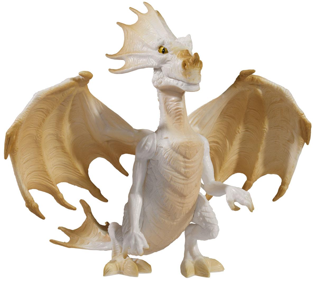 Simba Фигурка Дракон4414469Фигурка сказочного дракона из страны Magic Fairies не оставит равнодушной ни одного ребенка. Дракон белого и светло-бежевого оттенка, с грозно поднятыми крыльями. Но, если приглядеться, можно заметить у дракончика добродушную улыбку. С такой фигуркой ваш ребенок разнообразит любые игры с куклами, фигурками, или игровыми наборами. Порадуйте свою малышку таким замечательным подарком!