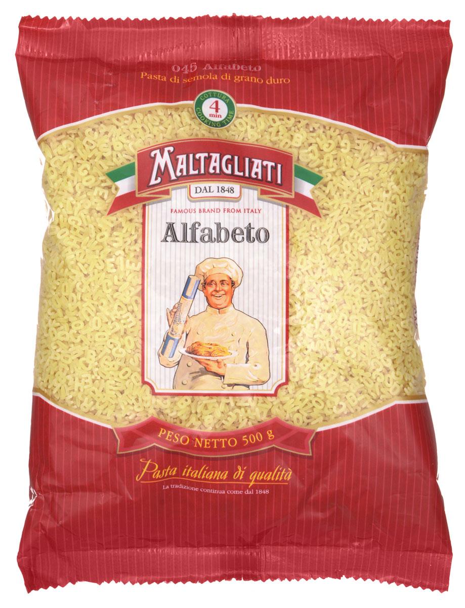 Maltagliati Alfabeto Алфавит макароны, 500 г