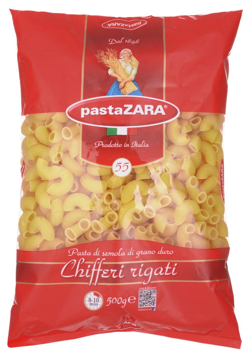 Pasta Zara Рожок рифленый макароны, 500 г8004350130556Макаронные изделия Pasta Zara - одна из самых популярных марок итальянских макаронных изделий в России. Продукция сочетает в себе современность технологий производства и традиционное итальянское качество. Макароны Pasta Zaraвыпускаются в Италии с 1898 года семьёй Браганьоло уже в течение четырёх поколений. Это семейный бизнес, который вкладывает более, чем вековой опыт работы с макаронными изделиями в создание и продвижение своего продукта, тщательно отслеживая сохранение традиций.