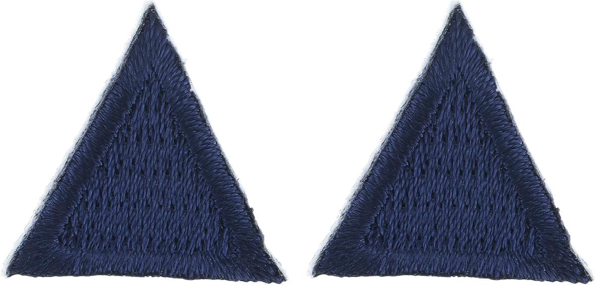 Термоаппликация Hobby&Pro Треугольник, цвет: темно-синий, 2 см х 2 см, 2 шт7700541_т.синийКлеевая термоаппликация Hobby&Pro Треугольник изготовлена из плотного текстиля. Изделие выполнено в виде треугольника. Термоаппликация с обратной стороны оснащена клеевым слоем, благодаря которому при помощи утюга вы сможете быстро и легко закрепить изделие на ткани. С такой термоаппликацией любая вещь станет особенной.