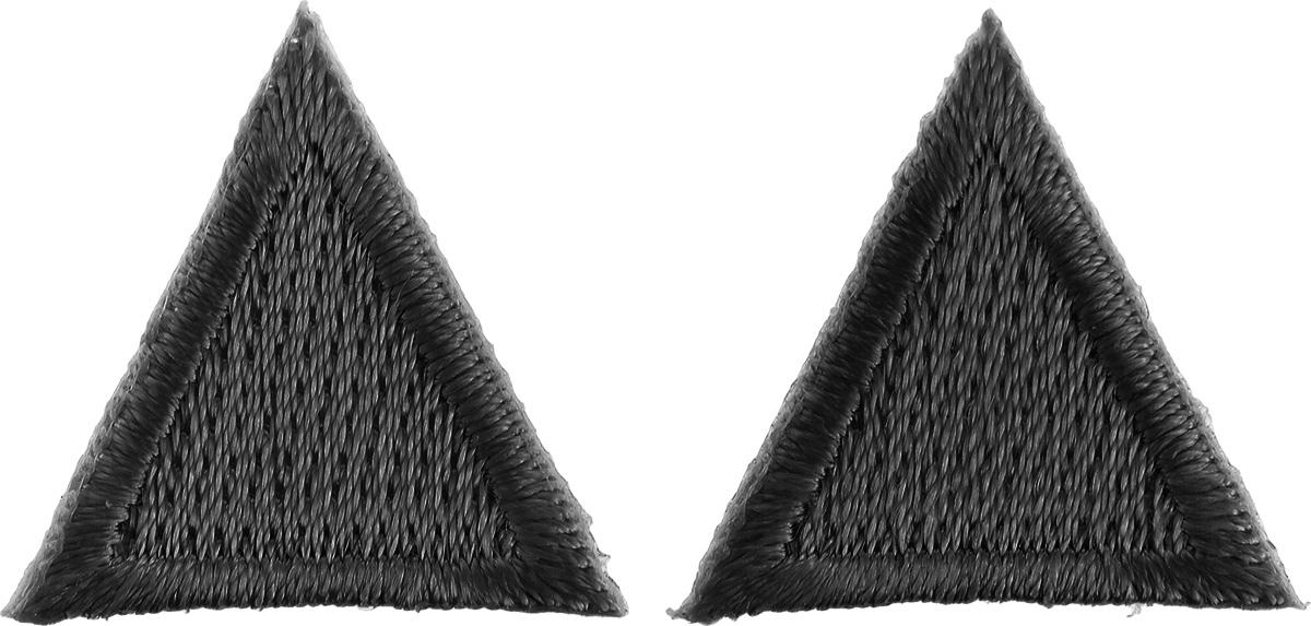 Термоаппликация Hobby&Pro Треугольник, цвет: черный, 2 х 2 см, 2 шт7700541_черныйКлеевая термоаппликация Hobby&Pro Треугольник изготовлена из плотного текстиля. Изделие выполнено в виде треугольника. Термоаппликация с обратной стороны оснащена клеевым слоем, благодаря которому при помощи утюга вы сможете быстро и легко закрепить изделие на ткани. С такой термоаппликацией любая вещь станет особенной.