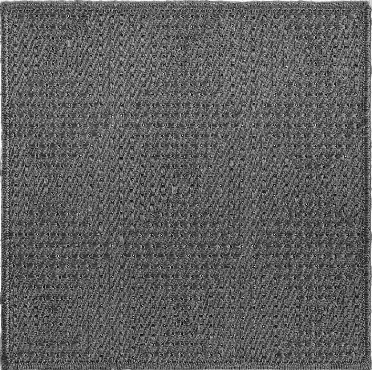Термоаппликация Hobby&Pro, цвет: темно-серый, 6 см х 6 см. AD14267704212_т.серыйКлеевая термоаппликация Hobby&Pro изготовлена из плотного текстиля. Изделие выполнено в виде квадрата. Термоаппликация с обратной стороны оснащена клеевым слоем, благодаря которому при помощи утюга вы сможете быстро и легко закрепить изделие на ткани. С такой термоаппликацией любая вещь станет особенной.