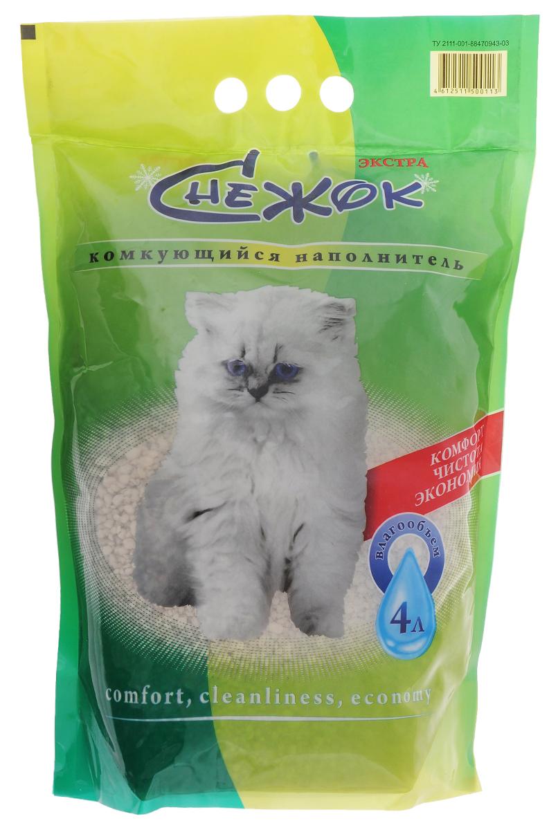Наполнитель для кошачьего туалета Снежок