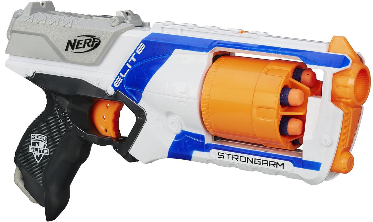 Nerf Бластер Strongarm цвет белый синий
