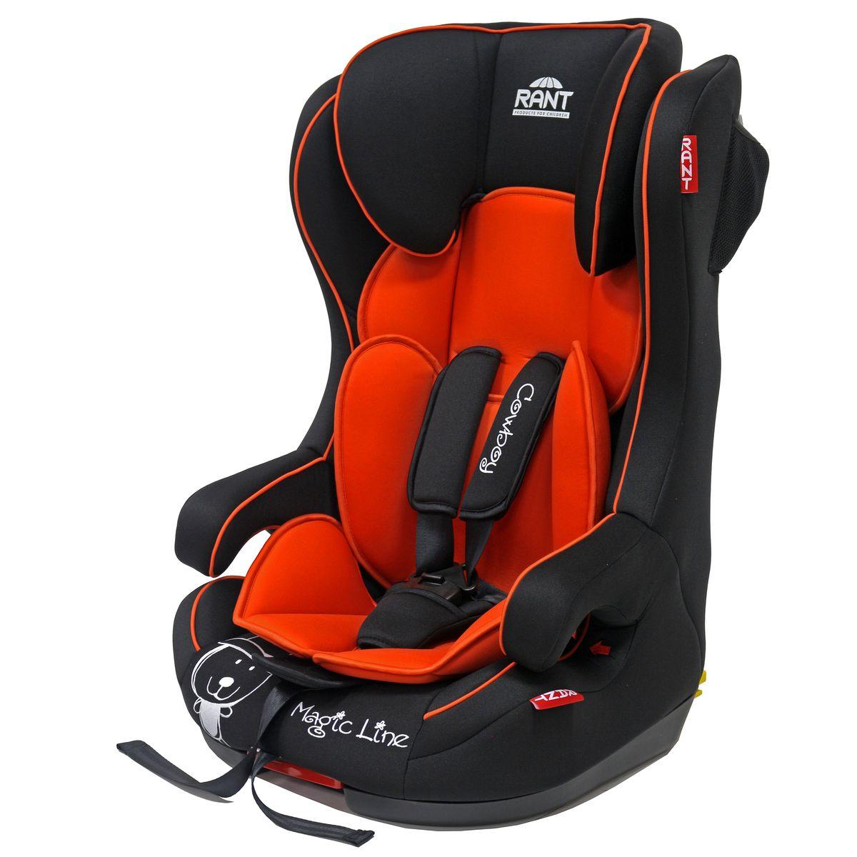 Rant Автокресло Cowboy Isofix цвет красный от 9 до 36 кг 4630008876527