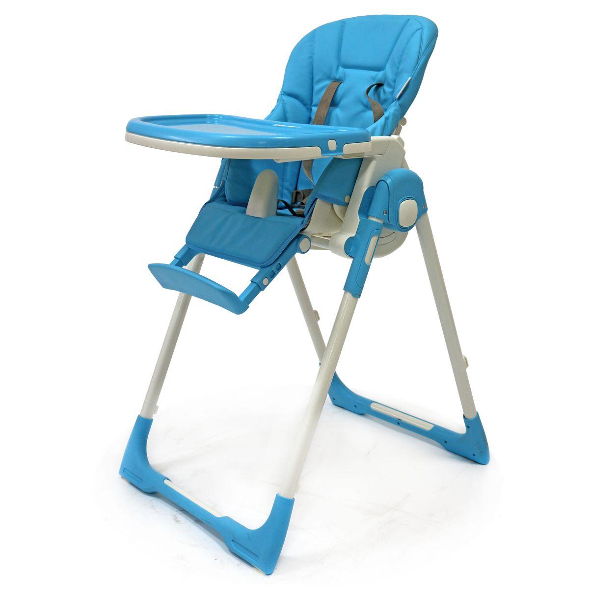 Rant Стульчик для кормления Crystal ЭкоКожа цвет голубой4630008877456Стульчик для кормления CRYSTAL - удобный, многофункциональный и практичный стульчик, предназначенный для детей с 0 и до 3-х лет. Он легко трансформируется в шезлонг, поэтому его можно использовать с рождения, а в возрасте 6 месяцев малыш сможет кушать сидя в этом стульчике. Спинка сидения имеет несколько уровней наклона. От положения «лежа» до положения «сидя». Если малыш устал и задремал во время кормления, можно легко, не разбудив его, опустить спинку сидения в положение лежа. Сиденье стульчика регулируется по высоте, обеспечивая быстрорастущему малышу удобство и комфорт. Когда ваш малыш подрастет, он будет счастлив сидеть на этом стульчике за одним столом вместе со взрослыми. Для этого вам всего лишь надо будет снять столешницу. Стульчик можно использовать как для кормления, так и для веселых игр, если расположить на подносе любимые игрушки ребенка. Съемный чехол сиденья изготовлен из высококачественной и долговечной экокожи. Легко моется, не деформируется и не выгорает от...