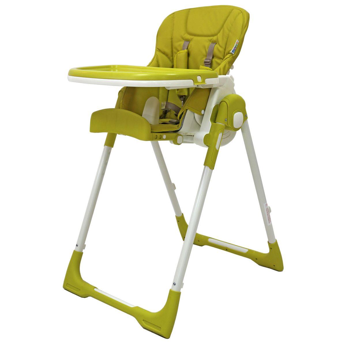 Rant Стульчик для кормления Crystal ЭкоКожа цвет салатовый4630008877487Стульчик для кормления CRYSTAL - удобный, многофункциональный и практичный стульчик, предназначенный для детей с 0 и до 3-х лет. Он легко трансформируется в шезлонг, поэтому его можно использовать с рождения, а в возрасте 6 месяцев малыш сможет кушать сидя в этом стульчике. Спинка сидения имеет несколько уровней наклона. От положения «лежа» до положения «сидя». Если малыш устал и задремал во время кормления, можно легко, не разбудив его, опустить спинку сидения в положение лежа. Сиденье стульчика регулируется по высоте, обеспечивая быстрорастущему малышу удобство и комфорт. Когда ваш малыш подрастет, он будет счастлив сидеть на этом стульчике за одним столом вместе со взрослыми. Для этого вам всего лишь надо будет снять столешницу. Стульчик можно использовать как для кормления, так и для веселых игр, если расположить на подносе любимые игрушки ребенка. Съемный чехол сиденья изготовлен из высококачественной и долговечной экокожи. Легко моется, не деформируется и не выгорает от...