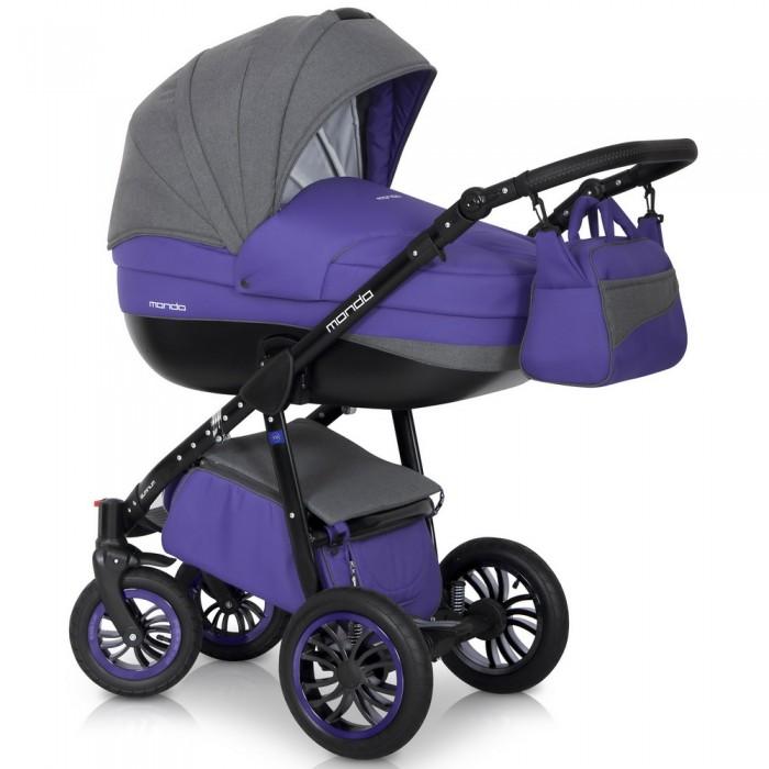 Expander Коляска универсальная 2 в 1 Mondo Black цвет фиолетовый серый5901583374999Детская коляска MONDO BLACK 2в1 от Польского производителя EXPANDER предназначена для детей с рождения и до 3-х лет. Современная коляска в оригинальном стильном дизайне обладает отменными эксплуатационными качествами и высокой надежностью, гарантирует удобство не только ребенку, но и родителям. Коляска MONDO BLACK укомплектована комфортной люлькой и прогулочным блоком, которые легко устанавливаются на раму, как по ходу, так и против хода движения, т.е. «лицом к маме». Люлька коляски просторная, обтекаемой формы позволит малышу чувствовать себя комфортно как зимой, так и летом. Бортики люльки дополнительно утеплены изнутри, что защищает малыша от ветра и непогоды во время прогулок. Комфортное и удобное прогулочное сиденье для подросшего малыша предоставит наилучшие условия для увлекательных прогулок и изучения окружающего мира. Для этого спинка сиденья может устанавливаться в нескольких положениях, а подножка регулируется по высоте. Модель коляски очень удобна и маневренна благодаря...