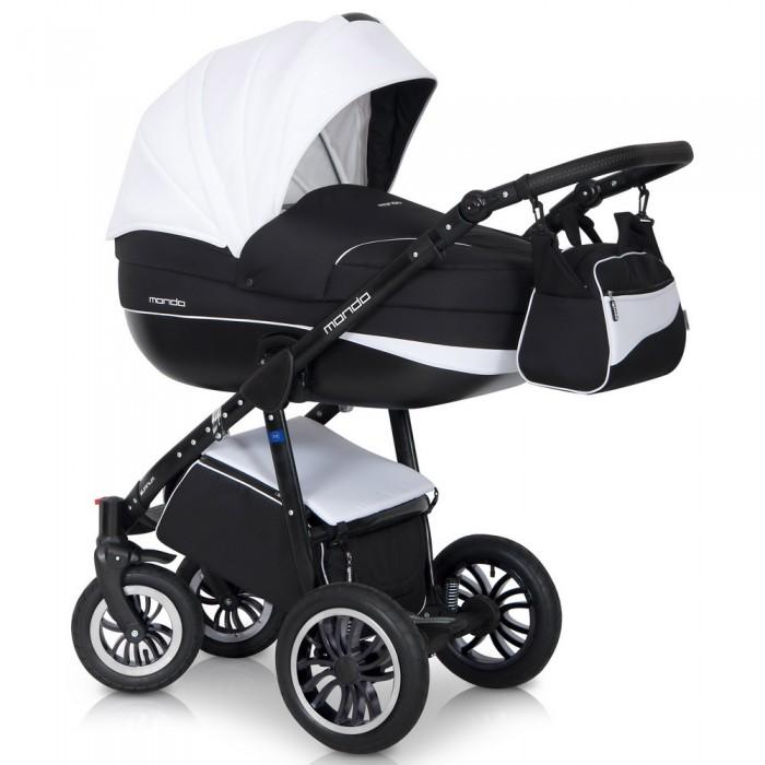 Expander Коляска универсальная 2 в 1 Mondo Black цвет белый черный5901583375040Детская коляска MONDO BLACK 2в1 от Польского производителя EXPANDER предназначена для детей с рождения и до 3-х лет. Современная коляска в оригинальном стильном дизайне обладает отменными эксплуатационными качествами и высокой надежностью, гарантирует удобство не только ребенку, но и родителям. Коляска MONDO BLACK укомплектована комфортной люлькой и прогулочным блоком, которые легко устанавливаются на раму, как по ходу, так и против хода движения, т.е. «лицом к маме». Люлька коляски просторная, обтекаемой формы позволит малышу чувствовать себя комфортно как зимой, так и летом. Бортики люльки дополнительно утеплены изнутри, что защищает малыша от ветра и непогоды во время прогулок. Комфортное и удобное прогулочное сиденье для подросшего малыша предоставит наилучшие условия для увлекательных прогулок и изучения окружающего мира. Для этого спинка сиденья может устанавливаться в нескольких положениях, а подножка регулируется по высоте. Модель коляски очень удобна и маневренна благодаря...