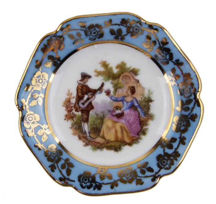 Миниатюрная тарелочка