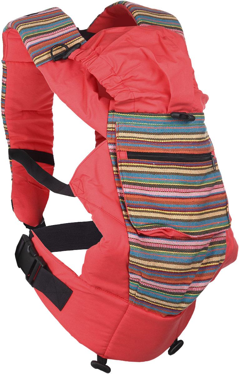 Чудо-Чадо Слинг-рюкзак Уичоли цвет коралловыйСРЧ01-007_коралловыйУичоли - это племя индейцев, которые носят множество вышитых сумочек, любят слинги, сумки, ткачество и вышивку. За это антропологи назвали их племенем художников. Классический слинг-рюкзак Уичоли выполнен в этно-стиле из натуральной, дышащей, гипоаллергенной, износостойкой и простой в уходе ткани - 100% хлопка с отделкой из 100% полиэстера. Твил внутри и мягкие края рюкзака не натирают нежную кожу ребенка и не врезаются в ножки. Чтобы спинке малыша было комфортно, верхний край сделан из мягкого валика. Все крепления лямок и края сиденья рюкзака дополнительно усилены. В лямках рюкзака в качестве наполнителя использована специальная пенка. Она хорошо держит форму, устойчива к самой интенсивной эксплуатации, не подвержена разрушению под воздействием воды, моющих средств и ультрафиолетовых лучей. Широкий пояс помогает правильно распределить вес и разгружает спину. Рюкзак снабжен двойным вместительным карманом для мелочей и регулируемым капюшоном-подголовником. ...