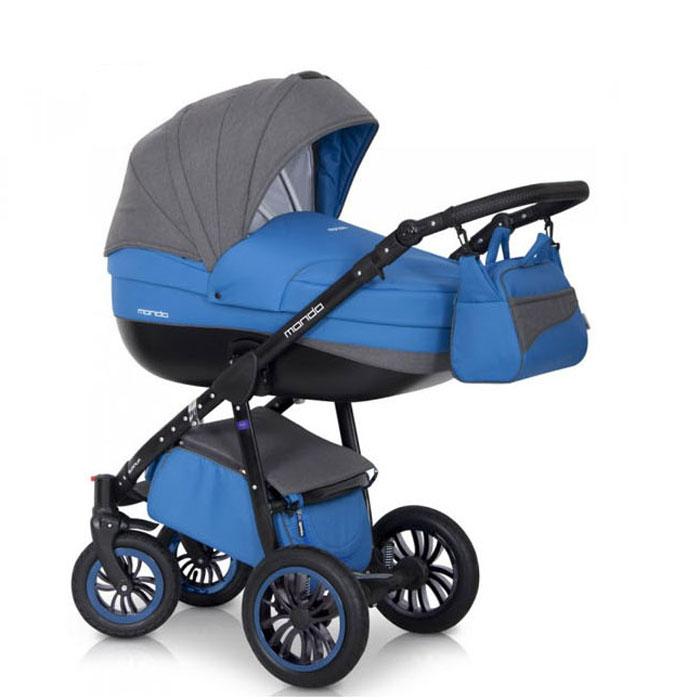 Expander Коляска универсальная 2 в 1 Mondo Black цвет голубой серый5901583375002Детская коляска MONDO BLACK 2в1 от Польского производителя EXPANDER предназначена для детей с рождения и до 3-х лет. Современная коляска в оригинальном стильном дизайне, обладает отменными эксплуатационными качествами и высокой надежностью, гарантирует удобство не только ребенку, но и родителям. Коляска MONDO BLACK укомплектована комфортной люлькой и прогулочным блоком, которые легко устанавливаются на раму, как по ходу, так и против хода движения, т.е. «лицом к маме». Люлька коляски просторная, обтекаемой формы позволит малышу чувствовать себя комфортно как зимой, так и летом. Бортики люльки дополнительно утеплены изнутри, что защищает малыша от ветра и непогоды во время прогулок. Комфортное и удобное прогулочное сиденье для подросшего малыша предоставит наилучшие условия для увлекательных прогулок и изучения окружающего мира. Для этого спинка сиденья может устанавливаться в нескольких положениях, а подножка регулируется по высоте. Модель коляски очень удобна и маневренна благодаря...