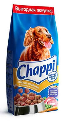 """Корм сухой для собак Chappi """"Сытный мясной обед"""", мясное изобилие с овощами и травами, 15 кг 10017"""