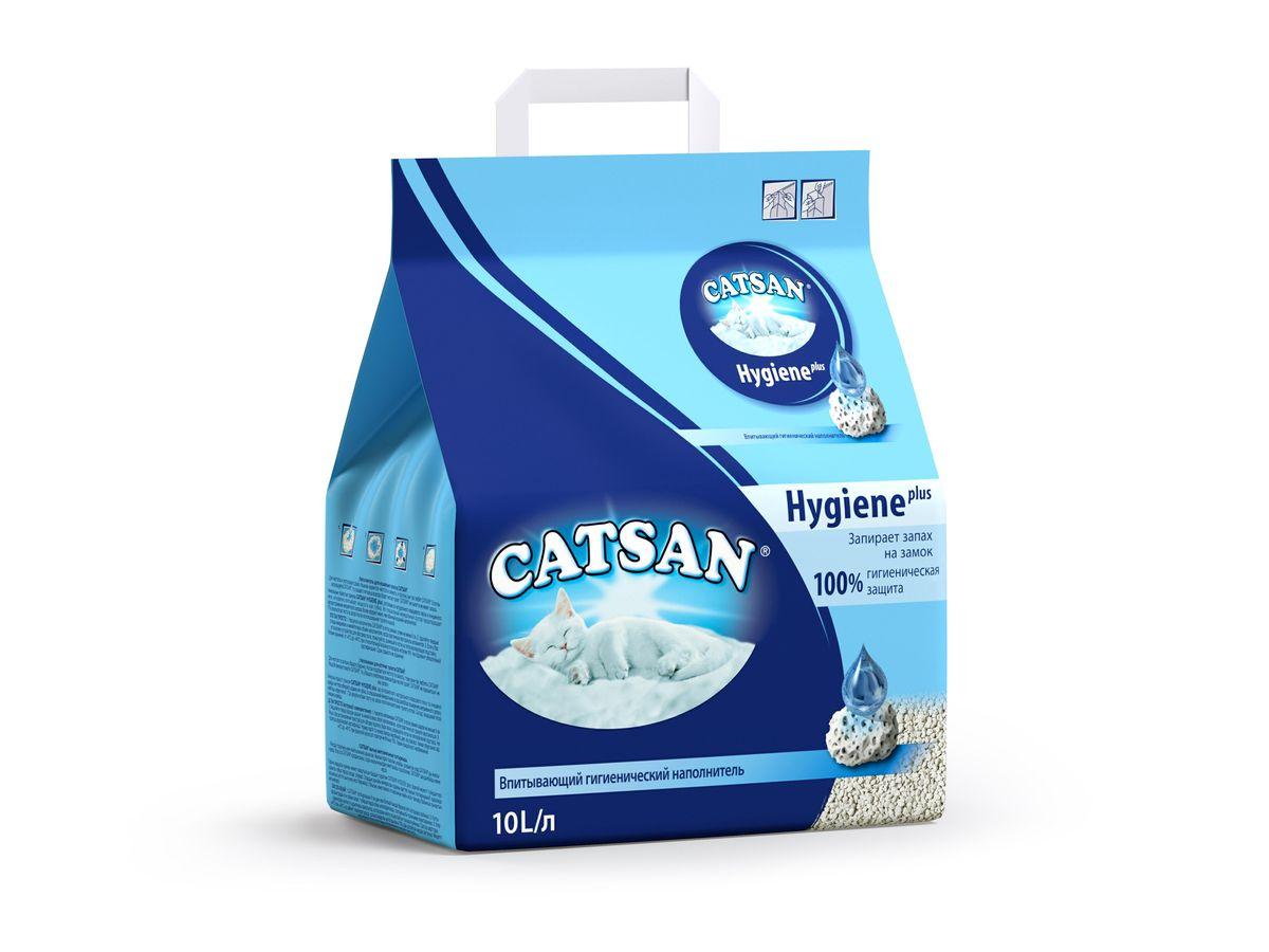 Наполнитель для кошачьего туалета Catsan, впитывающий, 10 л10201/9570/LX410Впитывающий гигиенический наполнитель Catsan Hygiene Plus обеспечит вашей кошке всегда чистый туалет и устранит неприятный запах. Уникальные минеральные гранулы с микропорами, состоящие из очищенного мела и натурального кварцевого песка, впитывают влагу, словно губка. Поверхность гранул при этом остается сухой и чистой. Запатентованная технология предотвращает рост бактерий и появление неприятного запаха в три раза эффективнее, чем обычный наполнитель. Наполнитель Catsan Hygiene Plus не содержит асбеста и отбеливателей. Рекомендации по применению: Насыпьте наполнитель в кошачий лоток слоем около 5 см. Твердые отходы удаляйте из лотка по мере их появления, а также регулярно перемешивайте наполнитель совочком. Рекомендуется полностью заменять наполнитель в лотке хотя бы 1 раз в неделю. Перед насыпанием новой порции наполнителя следует тщательно промыть лоток горячей водой с мягким очищающим средством (желательно, без запаха). Прежде чем насыпать...
