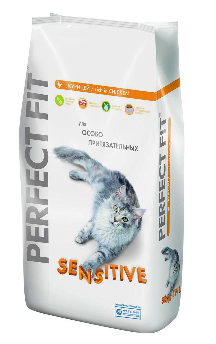 Корм сухой Perfect Fit Sensitive для кошек с чувствительным пищеварением, с курицей, 3 кг29017Сухой корм Perfect Fit Sensitive - высококачественное сухое питание, специально приготовленное, чтобы поддержать здоровье привередливых кошек. Если кошка капризничает, отказывается от привычной еды, это может быть обусловлено тем, что она чувствительна к еде. Специально для особо притязательных разработан Perfect Fit с формулой Sensitive - полноценное сбалансированное питание без добавления сои и пшеницы, которое оптимально подойдет кошкам с чувствительным пищеварением. Рецептура содержит растительные экстракты для формирования здоровой микрофлоры кишечника, а комплекс антиоксидантов укрепляет иммунитет. Состав: высушенный белок птицы (включая 18% курицы), кукуруза, высушенный животный белок, животный жир, кукурузная мука, высушенный белок злаков, высушенная печень, мясокостная мука, сухая свекла, соль, экстракт цикория, хлорид калия, витамины и минеральные вещества. Пищевая ценность в 100 г: белки - 35 г, жиры - 16 г, зола - 7,3 г, влажность -...