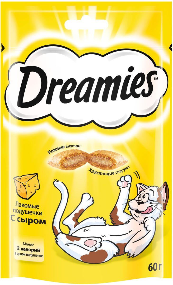 Лакомство для взрослых кошек Dreamies, подушечки с сыром, 60 г36935Лакомство Dreamies - это сказочное лакомство, выполненное в виде хрустящих подушечек с вкусной начинкой, является добавкой к ежедневному рациону кошки. Обогащено витаминами и минералами. Незабываемый нежный сыр в хрустящей вкусной подушечке - это достойная награда вашему любимому зверю. Состав: белковые растительные экстракты, злаки, мясо и субпродукты, масло и жиры, витамины и минеральные вещества, молоко и молочные продукты (включая 4% сыра). Пищевая ценность: белки - 32%, жиры - 20%, клетчатка - 1%, зола - 8,5%, витамин A - 6000 МЕ/кг, витамин B1 - 6 мг/кг, витамин B2 - 5 мг/кг, витамин B6 - 5 мг/кг, витамин D3 - 600 МЕ/кг, витамин E - 75 мг/кг, медь как сульфат меди(II) - 10 мг/кг. Вес: 60 г. Энергетическая ценность в 100 г: 386 ккал. Товар сертифицирован.