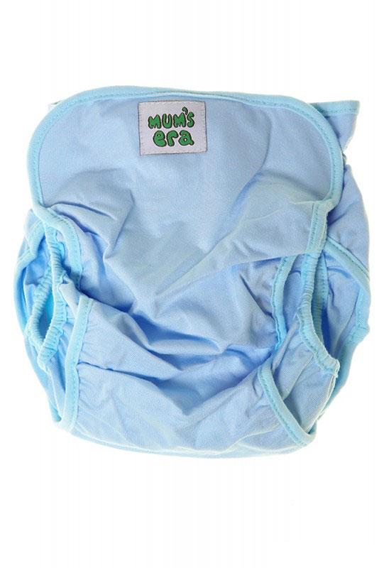 Mums Era Многоразовый подгузник Комфорт с вкладышем цвет голубой34807