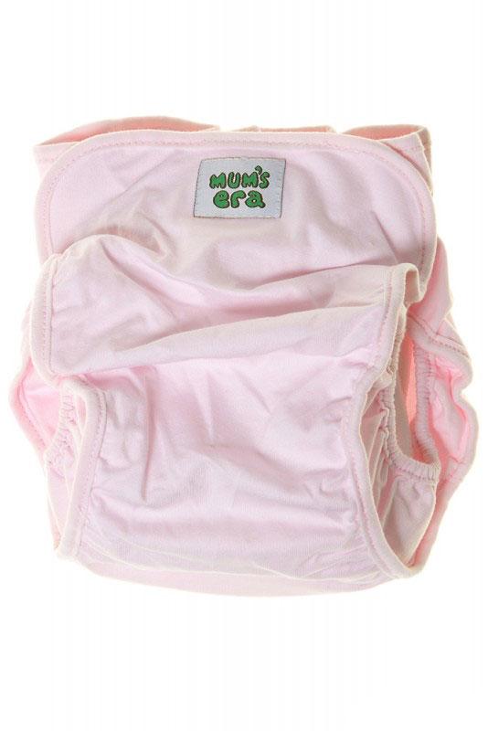 Mum's Era Многоразовый подгузник Комфорт с вкладышем цвет розовый