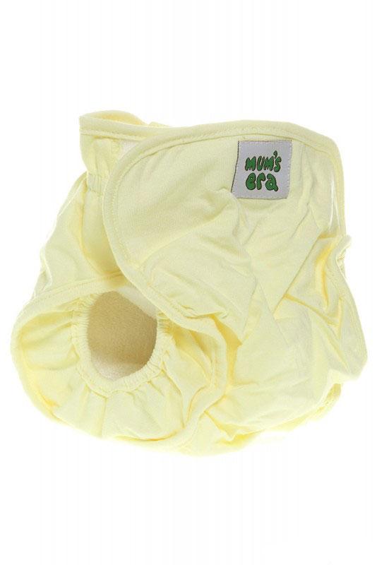 Mums Era Многоразовый подгузник Комфорт с вкладышем цвет желтый34809