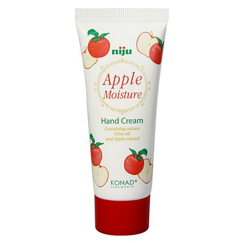 Konad Крем для рук увлажняющий с экстрактом Яблока niju Moisture hand cream - apple 60 млNJ-HCR03Увлажняющий крем для рук Манго 50 ml Крем для рук с ароматом манго сохраняет вашу кожу влажной и упругой, защищает от вредного воздействия окружающий среды. Крем содержит натуральное оливковое масло, экстракт манго, пчелиный воск и масло Ши. Способ применения: Наносить крем на очищенную кожу до полного впитывания