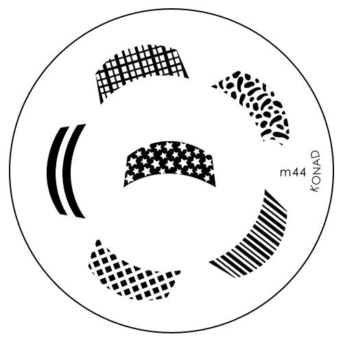 Konad Печатная форма (диск) M44 image plateSN-IPM044Диск для стемпинга. Теперь создавать дизайны на ногтях стало очень просто