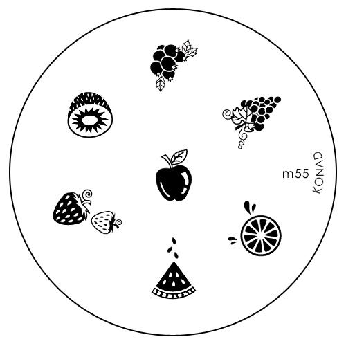 Konad Печатная форма (диск) M55 image plateSN-IPM055Диск для стемпинга. Теперь создавать дизайны на ногтях стало очень просто