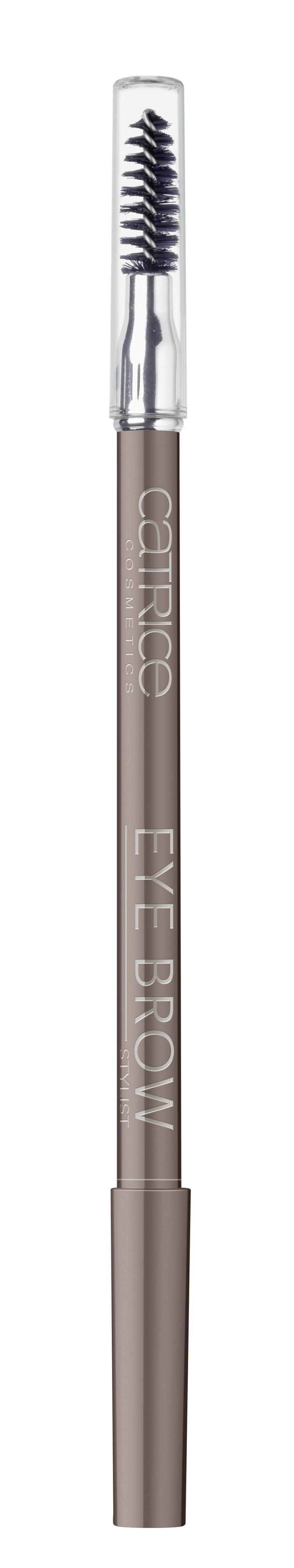 CATRICE Контур для бровей со щеткой Eye Brow Stylist 030 Brow-n-eyed Peas коричневый, 1,6гр48776Незаменимое средство для Ваших бровей В практичном дизайне в форме ручки. Благодаря профессиональной щеточке, создает идеальную форму бровей, на которую очень легко нанести пудровую текстуру карандаша и сделать натуральные, естественные брови. Вы больше никогда без него не выйдете из дома!
