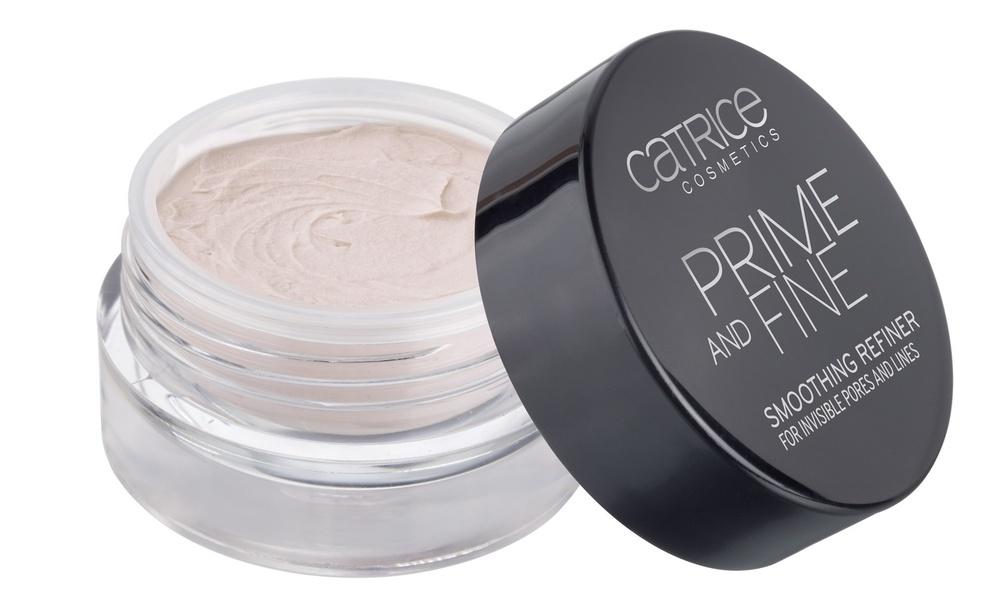 CATRICE Основа выравнивающая Prime And Fine Smoothing Refiner, 14гр48836Основа под макияж для идеального ровного, сияющего цвета лица; Уникальная формула с увлажняющим комплексом, на водной основе.