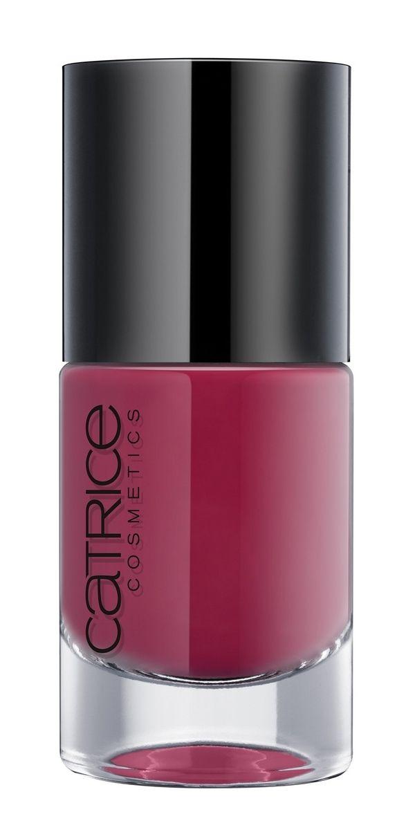 CATRICE Лак для ногтей ULTIMATE NAIL LACQUER 25 Roberts Red Ford рубиновый, 10мл74077Уникальная текстура лаков для ногтей Ultimate Nail Lacquer обеспечит длительный глянцевый эффект и профессиональное нанесение