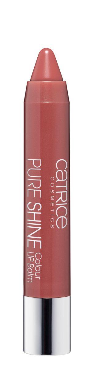 CATRICE Губная помада-Бальзам Pure Shine Colour Lip Balm 010 Rose&Woody розово-коричневый, 2,5гр75409Мягкая, кремовая текстура этого оттеночного бальзама легко наносится, прекрасно ложится и не растекается за контур губ! А удобная форма карандаша обеспечит легкость нанесения