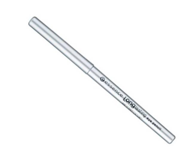 essence Карандаш для глаз Long lasting серебристый т.05, 0,28гр24698Long lasting от Essence - мягкий карандаш для глаз, предназначенный для точного нанесения линий. Стойкость и интенсивный цвет: благодаря инновационному поворотному механизму этот карандаш позволяет невероятно легко создать четкий, аккуратный и выразительный контур. Не требует заточки. Достоинства: Мягко и нежно ложится на веко Насыщенный пигмент Легко создать аккуратную линию любой толщины В течение дня цвет не тускнеет Легко удаляется при снятии макияжа.