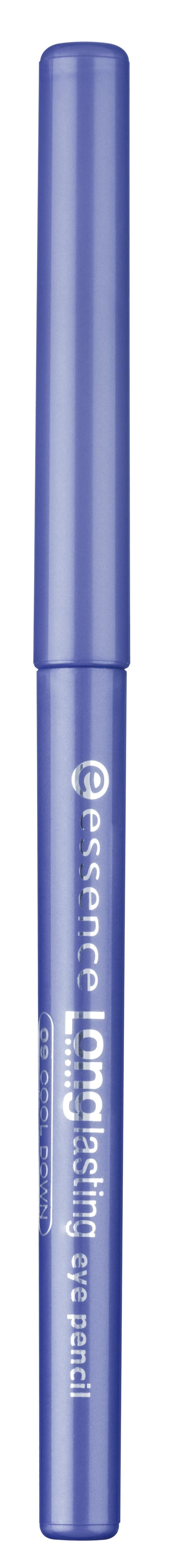 essence Карандаш для глаз Long lasting синий т.09, 0,28гр