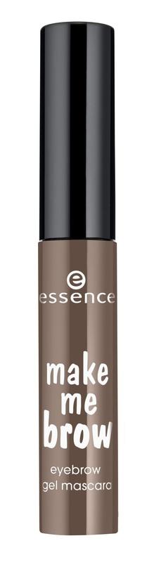 essence Цветной Гель для бровей темно-коричневый т.02, 3,8гр52842Данный гель представлен в двух оттенках – для светлых волосков и для тёмных бровей. Упаковка представляет собой компактный миниатюрный флакончик с чёрной крышкой. Маленькая функциональная кисточка с небольшими ворсинками разного размера помогает придать волоскам дополнительный объём, хорошо прокрашивает волоски и равномерно отдаёт продукт