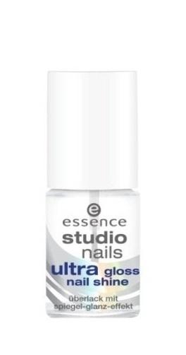 essence studio nails Укрепляющее средство для ногтей ultra gloss, 8мл70156Придает ногтям глянцевый блеск и укрепляет их! Придают ногтям ухоженный вид при минимуме затрат и усилий.