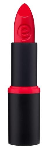 essence Губная помада longlasting lipstick насыщенно-красный т. 02, 3,8гр74867Коллекция «longlasting lipstick» - это множество красивых оттенков губной помады, поэтому каждая девушка сможет выбрать себе подходящий ей цвет. Любая помада из этой серии имеет хорошо пигментированный цвет и на несколько часов придаёт губам безупречный ухоженный вид. Вы можете выбрать как нюдовые (например, оттенок 5, 11), так и яркие насыщенные цвета (оттенки 2, 3). Помады представлены в чёрной матовой пластиковой упаковке с цветной полоской, совпадающей с оттенком помады. Плотная крышка защищает помаду от возможности открываться без необходимости.