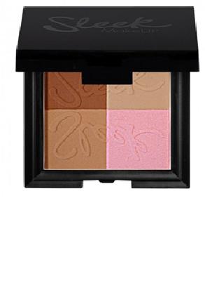 SLEEK MAKEUP Бронзирующая пудра 4 в 1 Bronze Block Light 99, 60гр96092705Четыре невероятно красивых оттенка, которые придадут Вашему лицу естественный сияющий цвет. 2 темных матовых оттенка подходят для коррекции лица. Красивый розовый оттенок с тонкими мерцающими частницами можно использовать как румяна. Любая девушка сможет подобрать свой оттенок загара. Стойкая бархатистая текстура. Подходит для любого типа кожи.