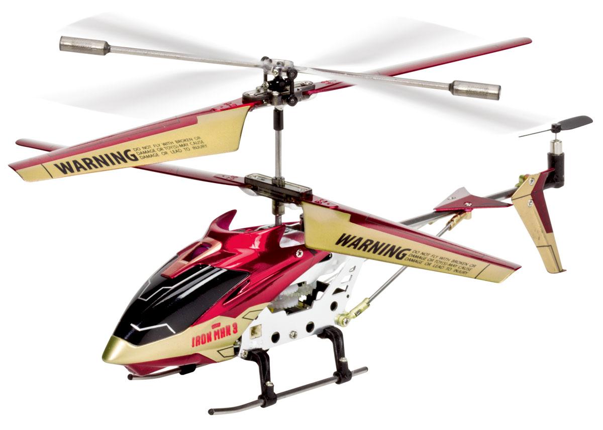 Majorette Вертолет на инфракрасном управлении Железный человек3089794Вертолет на инфракрасном управлении Majorette Железный человек - игрушка, которая обязательно понравится вашему ребенку. Каркас вертолета выполнен из пластика с использованием металла и идеально подходит для игры как внутри помещения, так и на улице. Он может летать на разной высоте вперед и назад, поворачивать вправо и влево. Управляется легко и просто благодаря встроенному гироскопу и трехканальному управлению. Каждый запуск вертолета Majorette Железный человек принесет яркие впечатления вам и вашему ребенку! Красивый дизайн, мощный двигатель позволяют получить максимум позитивных эмоций от игры. Радиоуправляемые игрушки развивают у ребенка мелкую моторику, логику, координацию движений и пространственное мышление. Порадуйте своего малыша таким замечательным подарком! Вертолет работает от встроенного литий-полимерного аккумулятора, который заряжается посредством шнура USB. Для работы пульта управления необходимо 6 батареек напряжением 1,5V...
