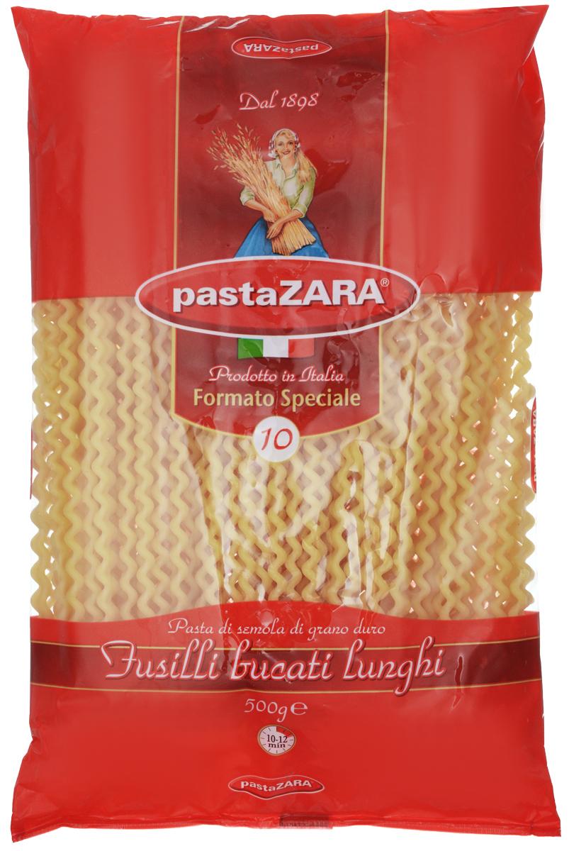 Pasta Zara Серпантин макароны, 500 г8004350000453Макароны Pasta Zara 010 сочетают в себе современность технологий производства и традиционное итальянское качество. Макаронные изделия Pasta Zara - одна из самых популярных марок итальянских макаронных изделий в России. Макароны Pasta Zaraвыпускаются в Италии с 1898 года семьёй Браганьоло уже в течение четырёх поколений. Это семейный бизнес, который вкладывает более, чем вековой опыт работы с макаронными изделиями в создание и продвижение своего продукта, тщательно отслеживая сохранение традиций.