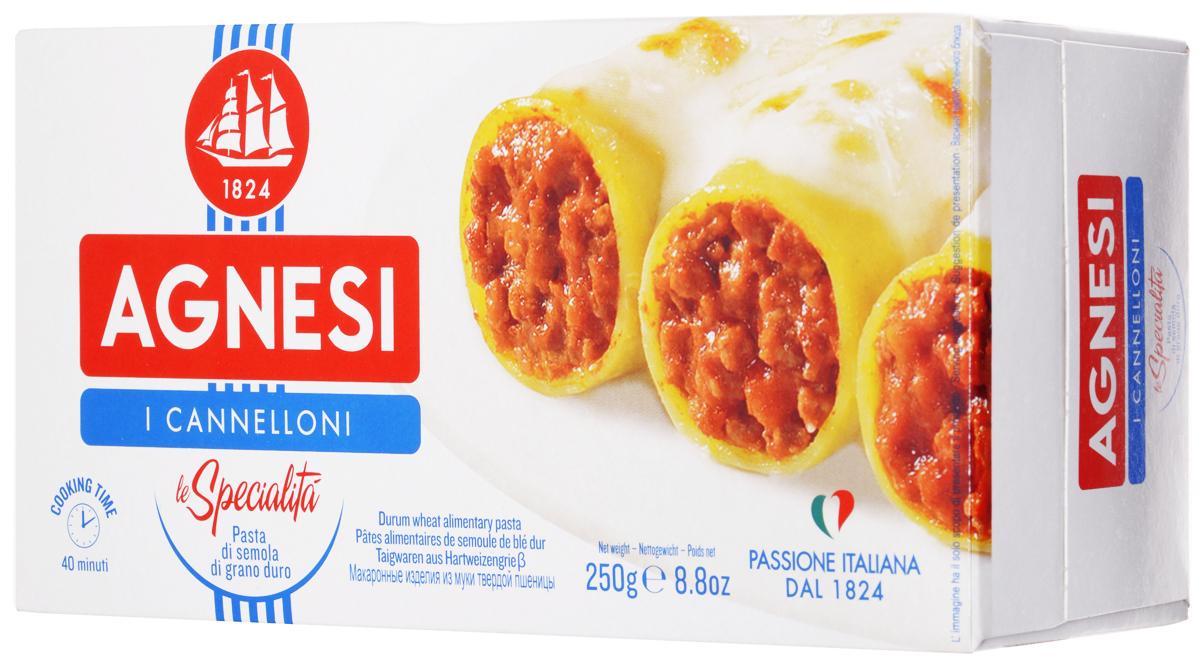 Agnesi Каннеллони макароны, 250 г